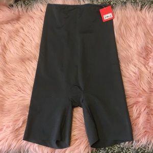Spanx simplicity high waist shaping shorts.